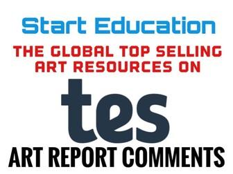 Art Reports. A level Art Report Comments