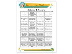 Animals & Nature - Conversation Flashcards