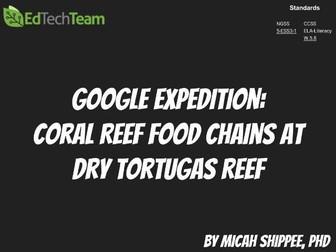 Coral Reef Food Chains at Dry Tortugas Reef #GoogleExpedition