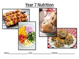 Nutrition and healthy eating scheme of work and resources