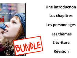 No et Moi- Book Study BUNDLE- A Level French