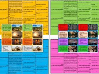 AQA 8700/1 English Language 80 Revision Card Pack - Paper 1