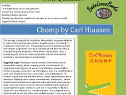 CHOMP Independent Reading Quizzes