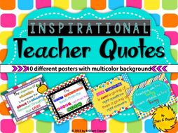 Teacher Appreciation Inspirational Quotes Postersend Of The Year