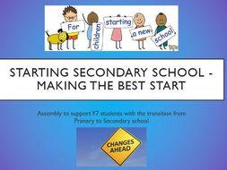 Starting Secondary School Assembly