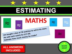 GCSE Revision Estimating and Approximating