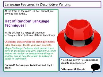 English Language Paper 1 Question 5 Resources