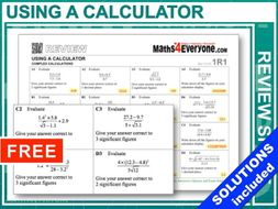 GCSE 9-1 Revision (Using a Calculator)
