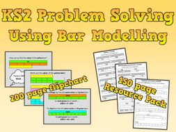 KS2 Maths Problem Solving Using Bar Modelling