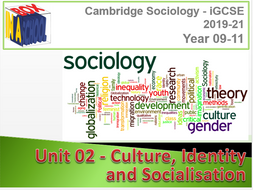 iGCSE Sociology - Unit 02 - Culture, Identity and Socialisation - Delivery Materials and Videos