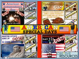 American Themed Days USA MLK