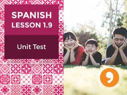 Spanish Lesson 1.9: ¡Hola! - Unit Test
