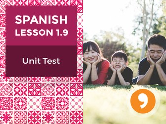 Spanish Lesson 1.9: ¡Hola! - Unit Test
