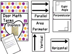Maths Display; Door Display