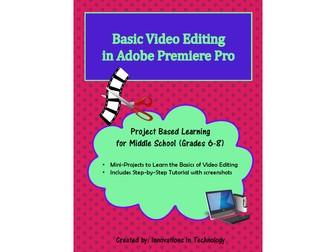 Basic Video Editing in Adobe Premiere Pro