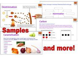 KS3 and KS4 Dextrinisation and Caramelisation