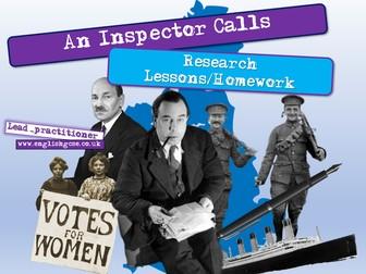 An Inspector Calls Context