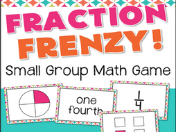 Fraction Frenzy Fractions Game