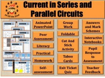 Current Electricity - Current in Series and Parallel Circuits KS3