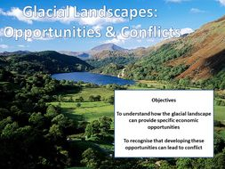 Glacial Landscapes: Opportunities & Conflicts