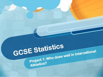 GCSE Statistics Data Collection Athletics Project (Part 5)