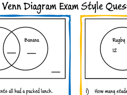 Maths gcse ks3 venn diagram revision questions by moggga activity ccuart Choice Image