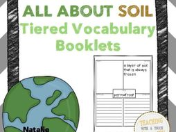 All About Soil Tiered Vocabulary Booklets