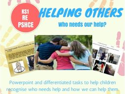 RE Caring for others Helping others KS1