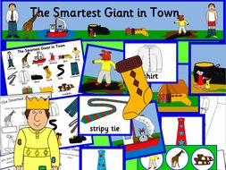 The Smartest Giant in Town story resources