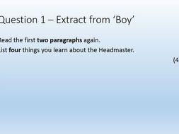 English Language Paper 1 GCSE