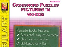 Picture Vocabulary: Crossword Puzzles