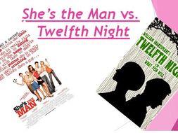 She's the Man vs Twelfth Night