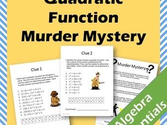 Quadratic Function - Murder Mystery
