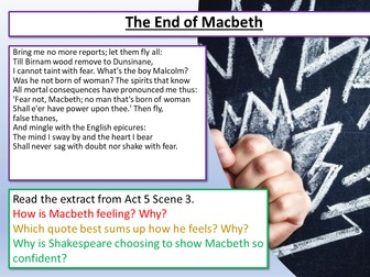 Macbeth: Act 5 Scene 5 - The End