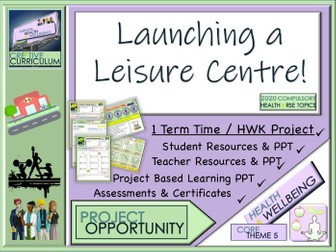 Health and Wellbeing Leisure Centre Project
