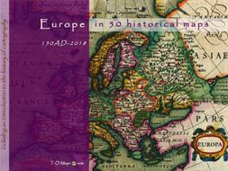 Europe in 50 historical maps: 150AD-2018 (144 pages)