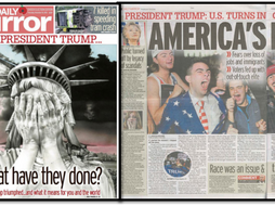 Full Newspaper Article and Extract - Daily Mirror US Election 2016 - AS MEDIA STUDIES