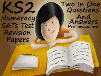Numeracy SATs Test Revision PowerPoints - Questions And Answers In Every Presentation.