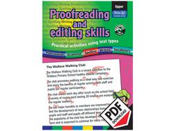 Proofreading and Editing Skills: Upper eBook LKS2 - UKS2 (Age 8-10)