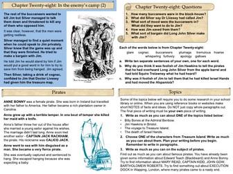 Treasure Island Part Six Slide Pack