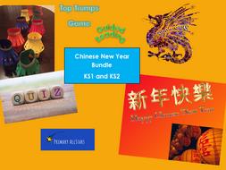 Chinese New Year KS1 and KS2 Bundle
