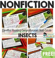Insects Nonfiction Nonfiction Reading Passages by seaofknowledge ...