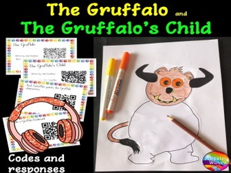 The Gruffalo and The Gruffalo's Child Book Unit