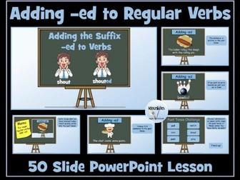 Verbs: Adding -ed to Regular Verbs