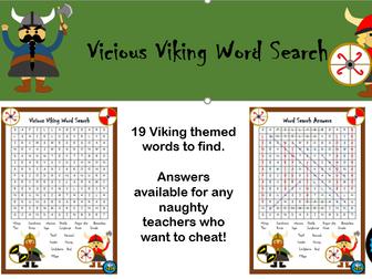Viking Word Search
