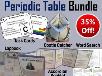 Periodic table task cards by sciencespot teaching resources tes periodic table task cards and activities bundle urtaz Choice Image