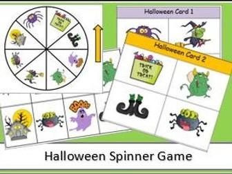 Halloween Spinner Game