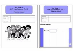 Year 2, SATs style Reasoning and Arithmetic Combined Pack 3 (New Curriculum)