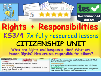 Human Rights Responsibilities - Citizenship