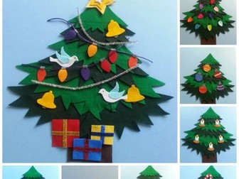 Celebrate Christmas: All Around the Christmas Tree Felt Board Pattern eBook